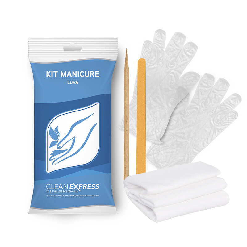 5463 - KIT MANICURE CLEAN EXPRESS CONJUNTO