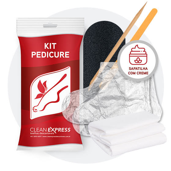 KIT PEDICURE CLEAN EXPRESS